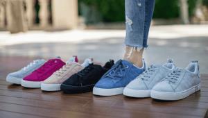 نحوه شستن کفش های «کتانی»
