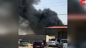 لحظه آتشسوزی وحشتناک یک خانه در دهلران