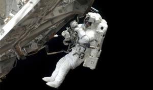 تصاویری هیجانانگیز از راهپیمایی فضانوردان