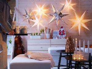 آموزش ساخت آویز ستاره کاغذی برای تزئین جشن ها