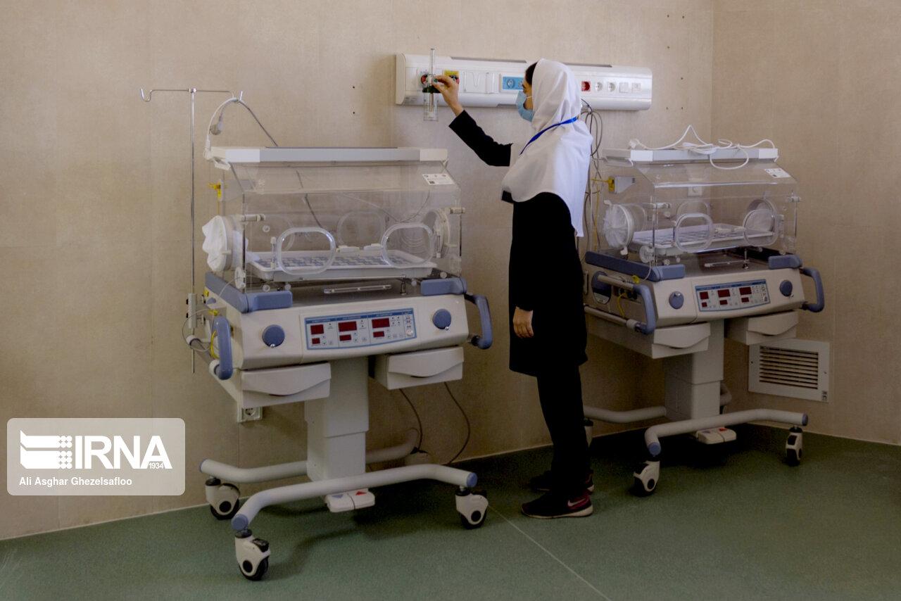 عکس/ افتتاح بیمارستان ۶۴ تختخوابی شهرستان مرزی مراوهتپه