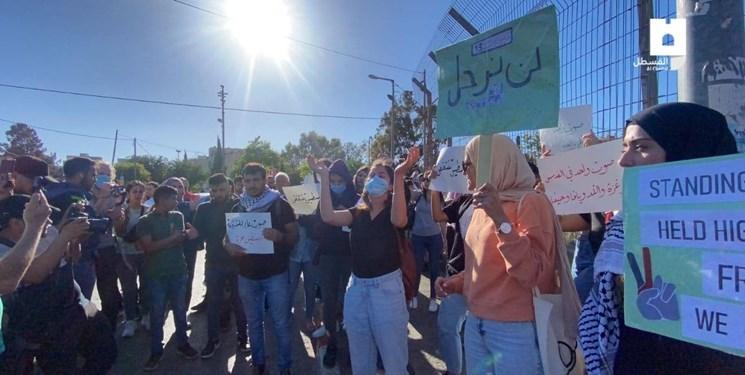 زخمی شدن ۲۰ فلسطینی در حمله نظامیان صهیونیست به شیخ جراح