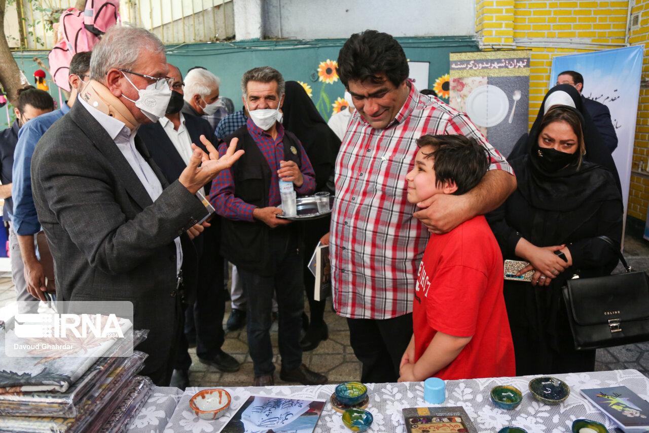 افتتاح مرکز راه نوین با حضور علی ربیعی