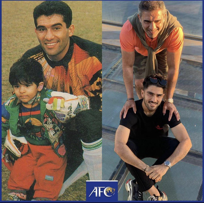 چهره ها/ احمدرضا عابدزاده و پسرش در گذر زمان