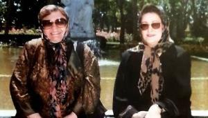 چهره ها/ عکس زیرخاکی از «مریم امیرجلالی» و زنده یاد«حمیده خیرآبادی»