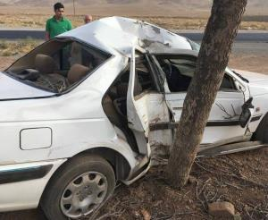 تصادف رانندگی در استان کرمانشاه باعث مرگ ۲ نفر شد