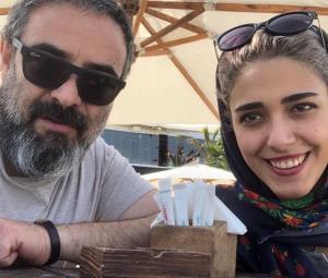 چهره ها/ حسن معجونی و عکسی از همسرش
