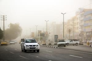 گرد و خاک و کاهش کیفیت هوا در شرق کشور
