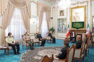 اعلام آمادگی نیروهای مسلح برای کمک به دولت جدید؛ فرماندهان عالیرتبه نظامی به دیدار رئیسی رفتند