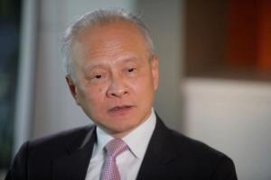 سفیر چین در واشنگتن به کار خود پایان داد
