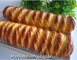 آموزش تهیه نان شیرمال ساده و خوشمزه