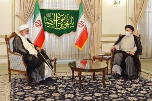 دیدار رئیس دفتر رهبر انقلاب با رئیس جمهور منتخب