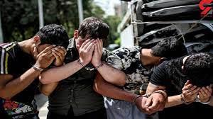 گندهلاتهای جنوب تهران بازداشت شدند