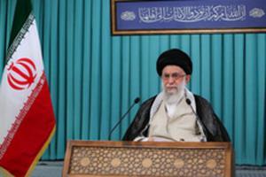 توئیت سایت رهبر انقلاب با هشتگ برکت ایران