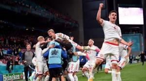 یورو 2020/ صعود دراماتیک دانمارک با تحقیر روسیه