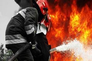 آتشسوزی در یکی از بازارهای کیش