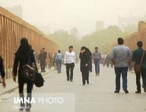 وزش باد و گردوخاک محلی پدیده غالب جوی تا اواخر هفته در اصفهان