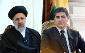 رئیس اقلیم کردستان عراق به رئیسی تبریک گفت