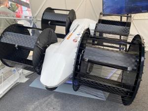 روسیه خودروی برقی پرنده ۶ نفره ساخت