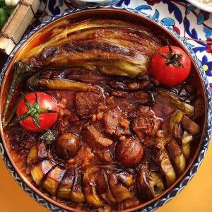 طرز تهیه خورش بادمجان ناهار اصیل ایرانی