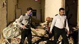 انفجار ساختمان مسکونی در الیگودرز