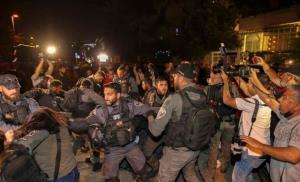 دور تازه حمله نظامیان اسرائیلی و شهرک نشینان به شیخ جراح