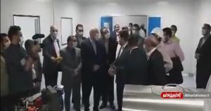 بازدید رئیس مجلس از کارخانه تولید نخستین واکسن ایرانی کرونا
