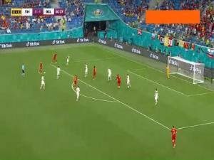 گل دوم بلژیک به فنلاند