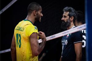 صعود برزیل به نیمه نهایی لیگ ملتهای والیبال