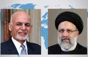 تماس تلفنی رئیسجمهور افغانستان با رئیسی