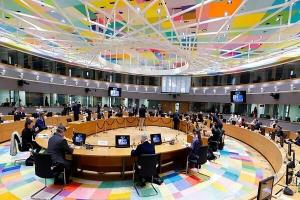 جلسه بررسی عضویت آلبانی و مقدونیه شمالی در اتحادیه اروپا