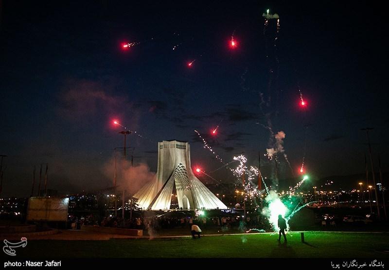جشن ولادت امام رضا(ع) در میدان آزادی