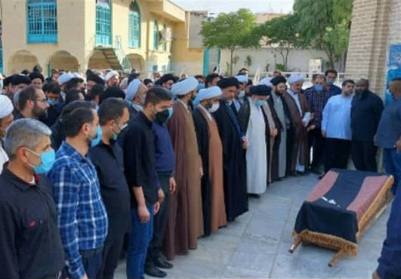 پیکر حجتالاسلام آقاجری در قم تشییع و به خاک سپرده شد