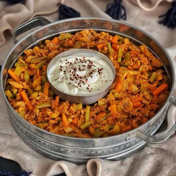 طرز تهیه خوراک قفقازی مخصوص با گوشت چرخ کرده