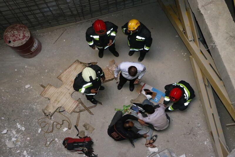 جان باختن کارگر مراغهای بر اثر سقوط از داربست