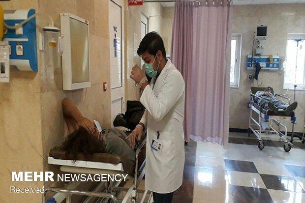۴ خبرنگار مصدوم با بالگرد عازم ارومیه شدند