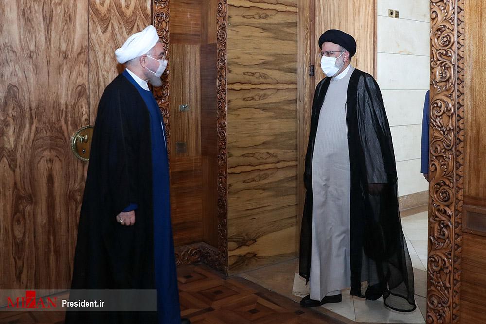 عکس/ دیدار رییس جمهور منتخب با روحانی