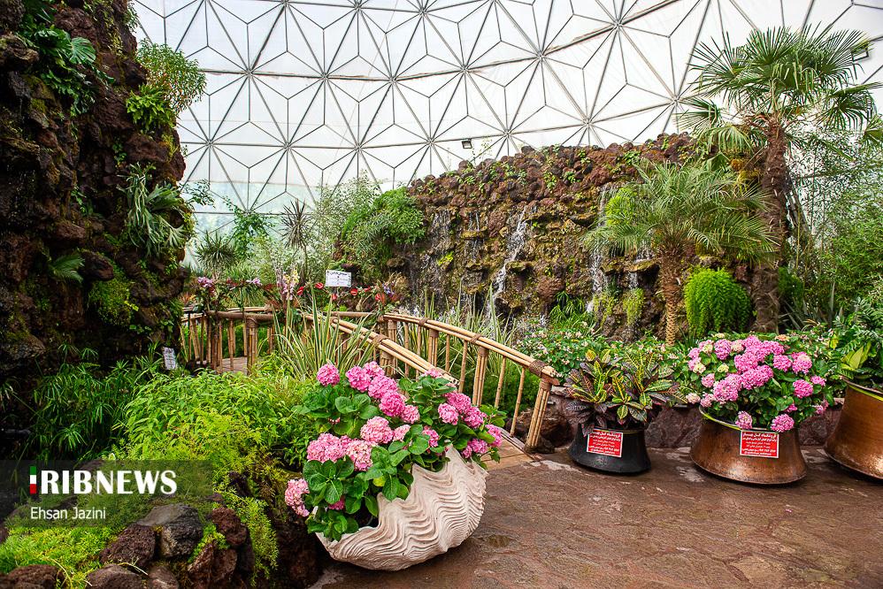 باغ گلهای اصفهان در روز ملی گل و گیاه