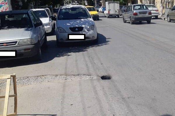 نشست خیابان اشک تلخ کرمانشاه به زودی رفع میشود