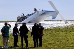 سقوط هواپیمای سبک در حومه ملبورن در استرالیا