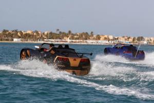 اختراع خودرویی در مصر که از آب عبور می کند