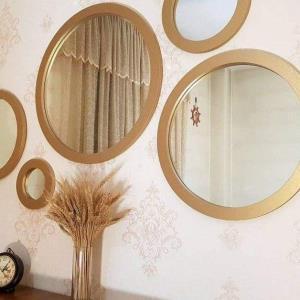 آینه های دکوری زیبا بسازید