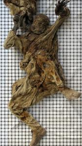 مرد نمکی دوران هخامنشی در زنجان کشف شد