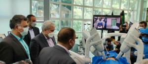 نخستین جراحی رباتیک از راه دور ایران روی شبکه همراه اول انجام شد