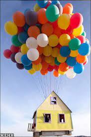 آرزوی داشتن خانه بادکنکی برآورده شد!