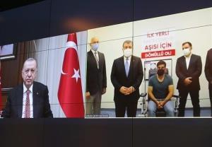 اردوغان واکسن کرونای ملی ترکیه را «تُرکوواک» نامید