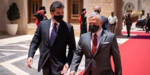 دیدار نیچروان بازرانی با شاه اردن