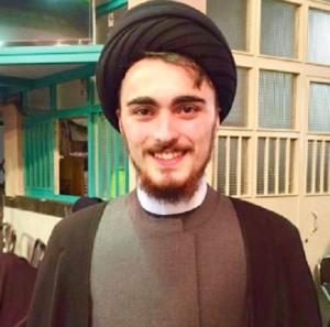همراهی غیر متعارف پسر نوه امام خمینی (ره) در یک دیدار رسمی