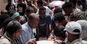 دهها کشته در حمله هوایی به بازاری در اتیوپی