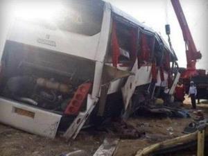 آخرین وضعیت مصدومان حادثه واژگونی اتوبوس خبرنگاران